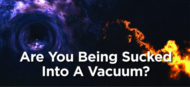 Avoiding Black Holes and Vacuums