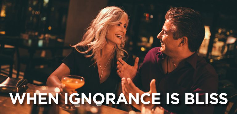 When Ignorance Is Bliss