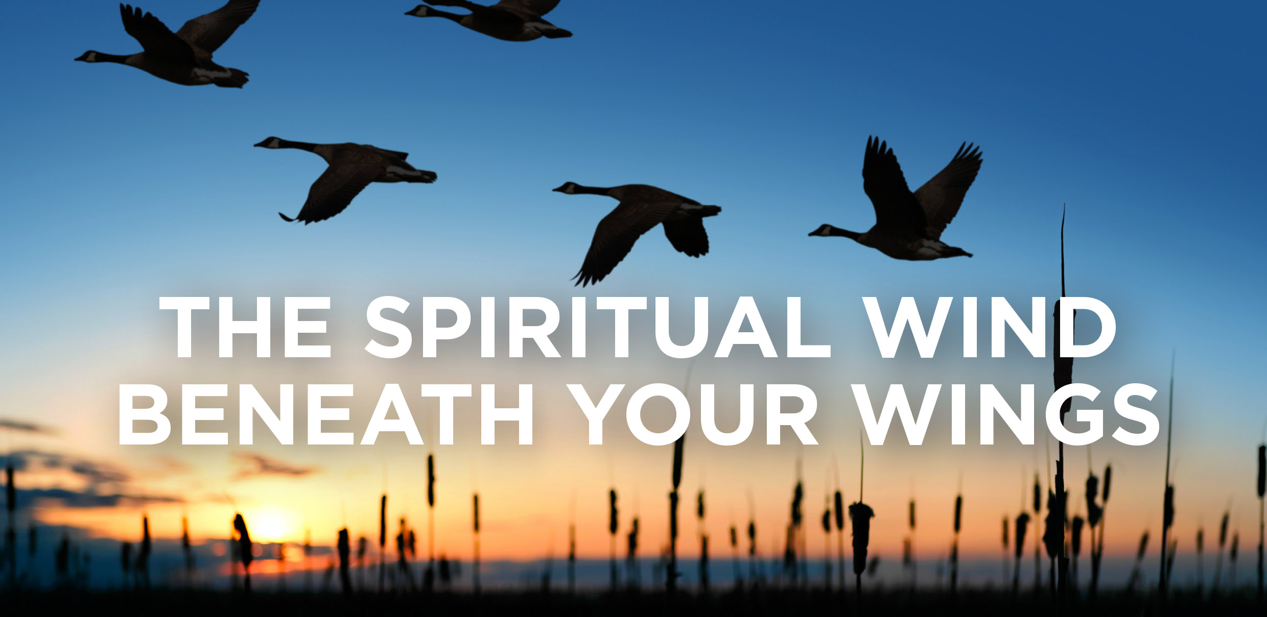 The Spiritual Wind Beneath Your Wings
